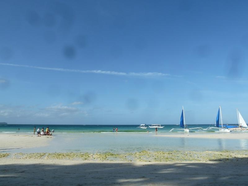 Manhã em Boracay (sim, preciso de uma câmera nova...)