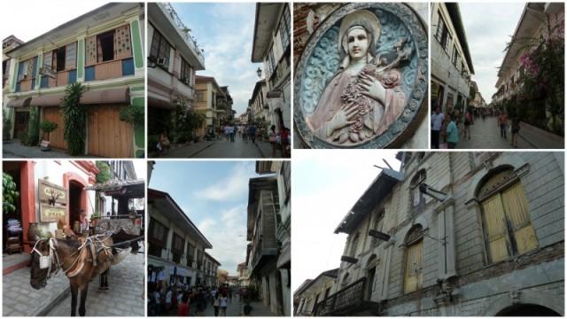 As ruas coloniais de Vigan, Ilocos Sur