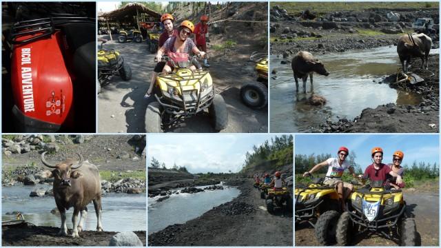 ATV em Cagsawa: super fun!!!