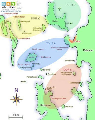 el_nido_tour_map_trotamundos_tatisato