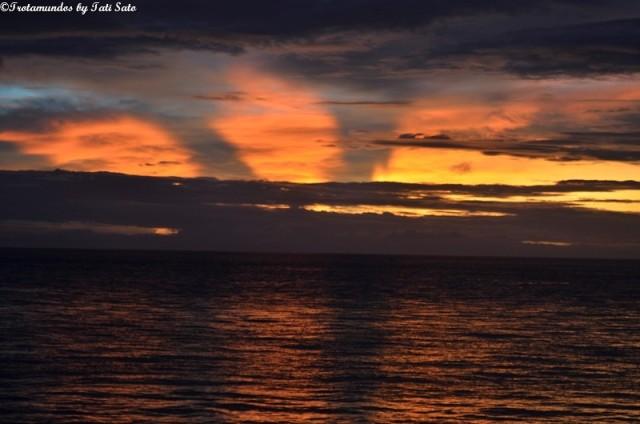 Nascer do sol em Dumaguete