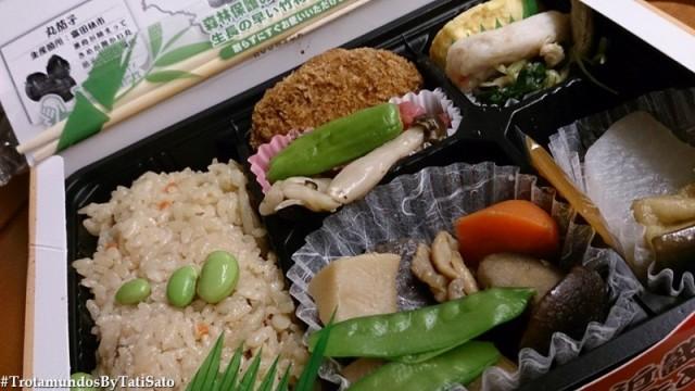 Bentô: a marmita que se pode ser comprada no shinkansen, em lojas de departamento e de conveniência