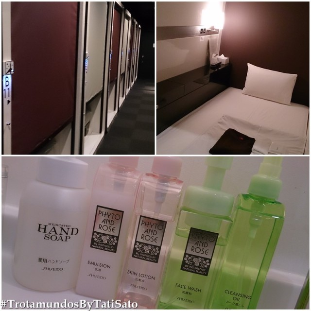 First Cabin em Hakata: as cápsulas, o quarto e os produtos de beleza! <3