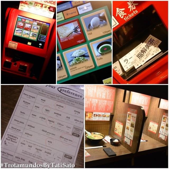 Experiência no Ichiran e seu serviço automatizado!