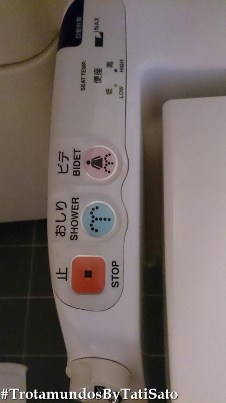 Os diversos botões e funções da privada japonesa! A-DO-REI!