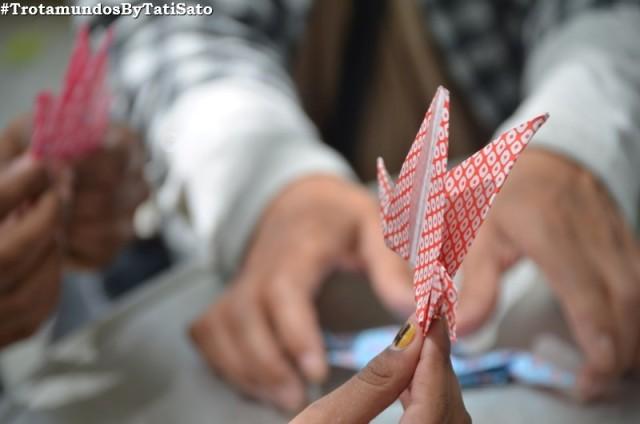 Origami: minha infância em um parque em Hiroshima!