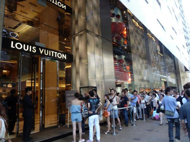 Louis Vuitton em Hong Kong