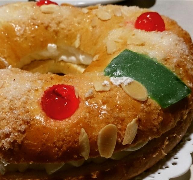 roscón de reyes, bolo de reis, tradição espanhola, comida espanhola Natal
